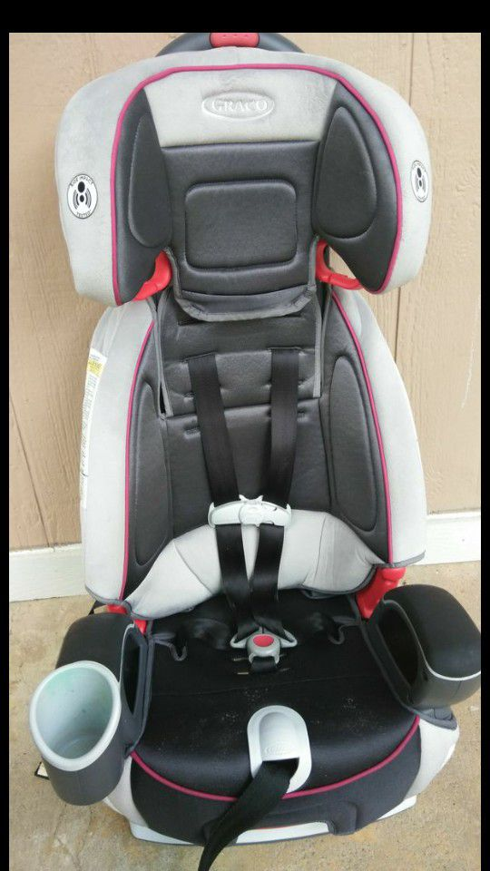 GRACO NAUTILIUS 65. RECLINER 3 IN 1. AGES 3 TO 10 YEARS. GOOD ...