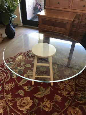 Glass Table Top 42""