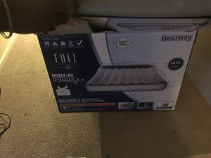 Two brand new air mattresses w/ built in pump! $25/ea