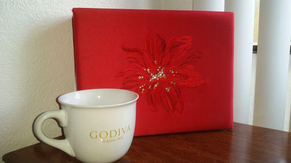 Godiva Chocolate storage box and Godiva oversized mug, check out my ...