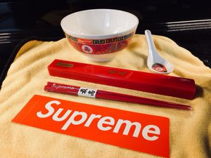 Supreme Ramen Bowl + Chopsticks Set