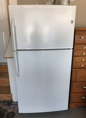 Refrigerator. Great for the garage also.