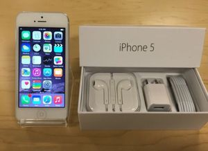 iPhone 5 - Factory Unlocked - Comes w/ Box + Accessories