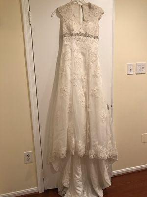 Wedding dress, size 4 ,