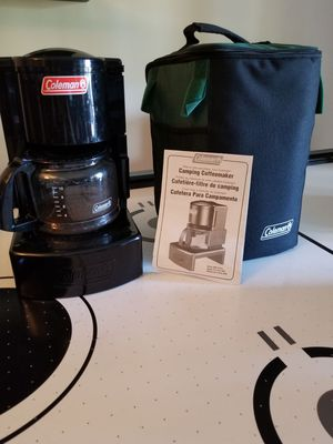 COLEMAN CAMPING 12 CUP COFFEE MAKER