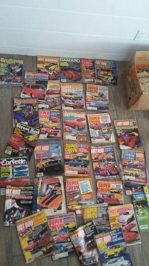 31 revistas carros clasicos 1980