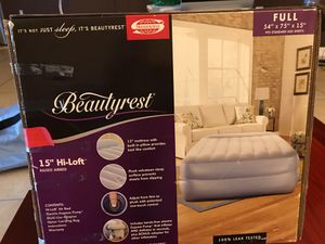 "15"" Hi-Loft raised Full size air mattress"