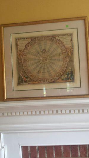 Zodiac framed art