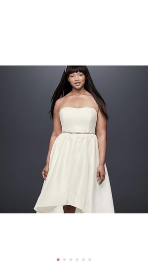 DB Studio High-Low Wedding Gown