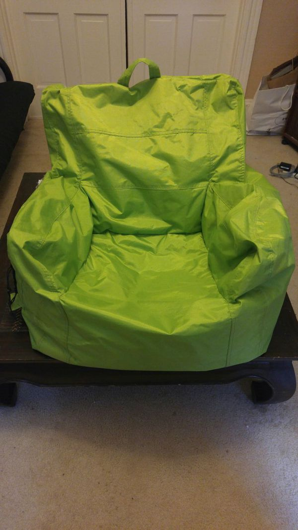 Big Joe Bean Bag Chair With Cup Holder