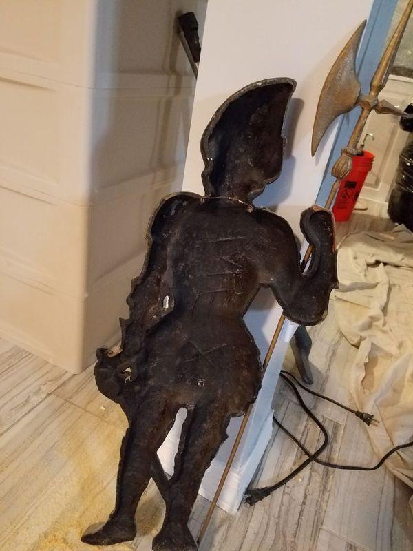 Sculpture of a knight
