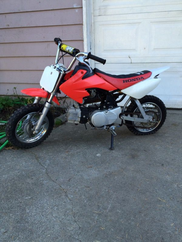 90cc Dirt Bike Or Pit Bike Motorcycles In Tacoma Wa Offerup
