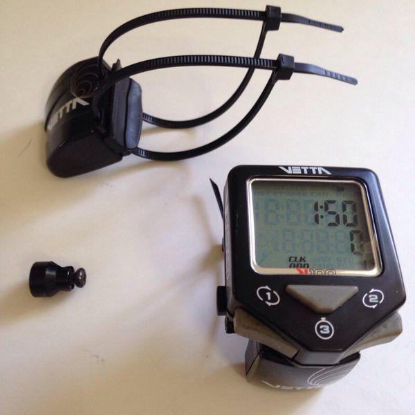 Vetta V 100 Wl2x Wireless Bike Computer Tracker 21 Functions