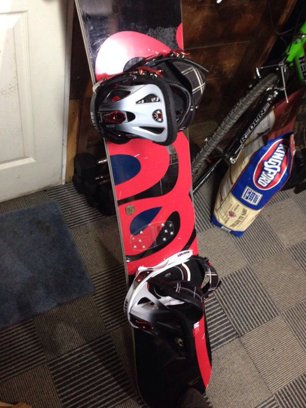 Burton Custom Snowboard No Bindings Sports Amp Outdoors