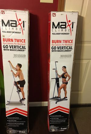 Maxi Climber Full-Body Workout Home Gym Exercise Equiptment