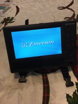 Emerson DVDs and CDs player