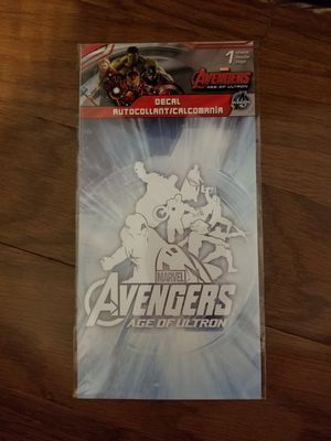 Loot crate Marvel Avengers Age of ultron decal