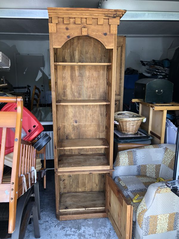 Rustic Wood Shelves / Wall Unit / Bookshelf / $40 (Furniture) in ...