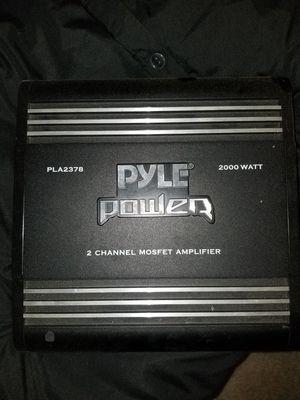 Pyle amp