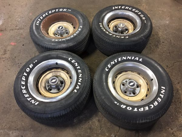 C10 Rally Wheels 15 Inch 15x8 C 10 Rims Wheels Auto Parts In Joliet Il Offerup
