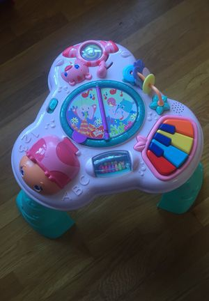 Bright Starts stand and play activity