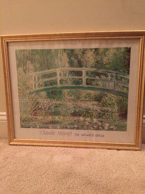 Japanese bridge frame