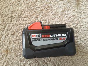 batería Milwaukee nueva 9.0 precio firme no ofertas