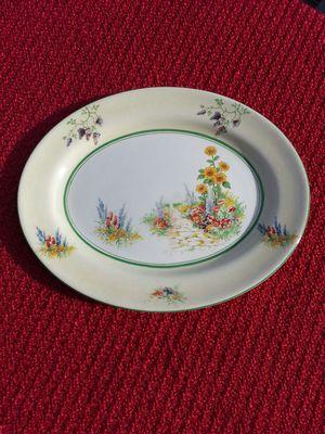 Vintage English Garden Ambassador Ware Platter
