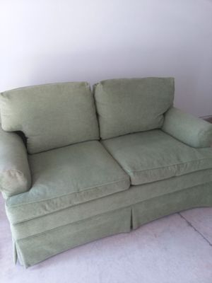 Loveseat by Hickory Chair in NC. From the Guthrey collection.