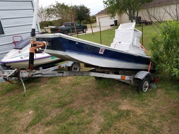 Jet jon with yamaha motor boats marine in buda tx for Jon boat with jet motor