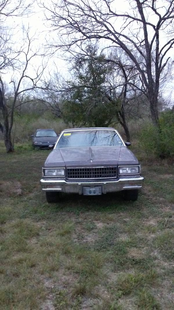 83 CHEVY CAPRICE W/ V8 MOTOR, FOR SALE OR TRADE (Cars & Trucks) in ...
