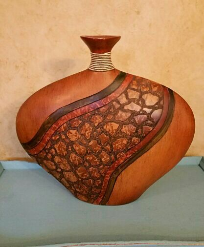 Large Carved Vase Household In Nashville Tn Offerup