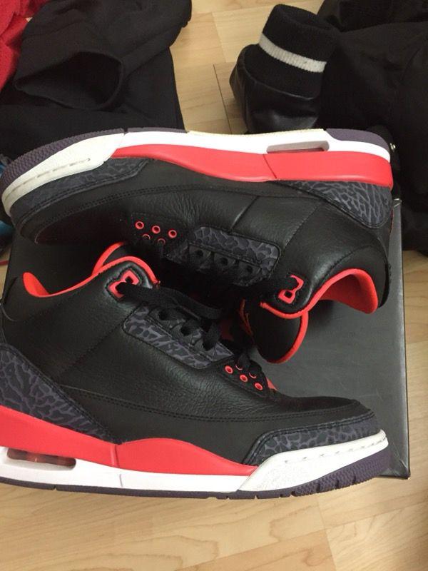 Jordan 3 Crimson