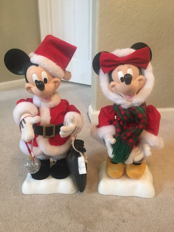 Awesome telco Disney animated Minnie and Mickey Mouse Christmas ...