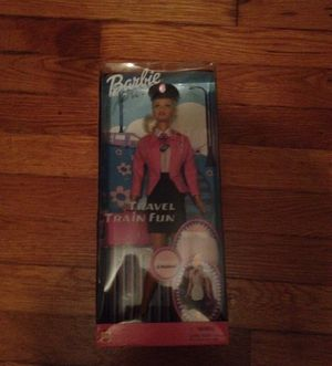 Brand New 2001 Barbie Travel Train Fun Doll
