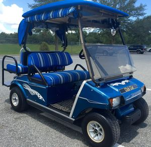 Fast beautiful golf cart club car