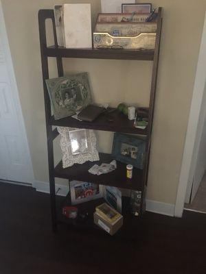 $30 4 layer trestle book shelf