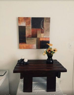 Table and painting