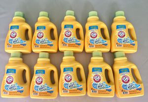 10 Arm and Hammer with Oxi Clean 25 loads/ 1.29 L