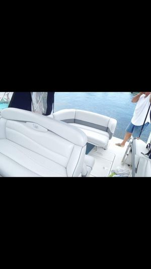 Upholstery services, make your boat seats look like new ones