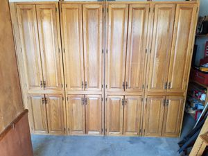 4 tall cabinets