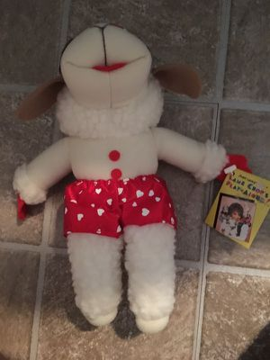 Vintage lamb chop/NEW Mickey Mouse throw blanket