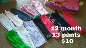 Pants , 12 months
