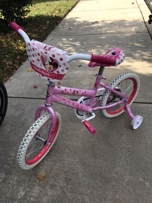 Huffy Minnie Mouse bicycle
