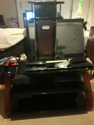 Z Line Design entertainment stand excellent condition firm on price