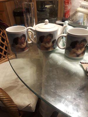 Angel tea set