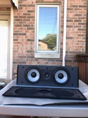 PARADIGM CC-370 V.2 3-way center speaker. sounds great.