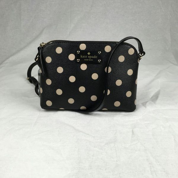 Nwt kate spade hanna wellesley polka dot dome crossbody handbag nwt kate spade hanna wellesley polka dot dome crossbody handbag junglespirit Gallery