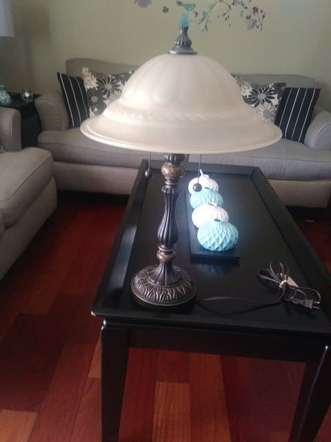 Beautiful glass shaded lamp furniture in covina ca beautiful glass shaded lamp mozeypictures Gallery