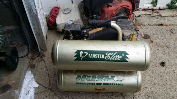 Master Elite Hush Air Compressor Tools Amp Machinery In